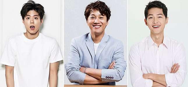 Park Bo Gum  Song Joong Ki Doyan Minta Tips Dari Cha Tae Hyun