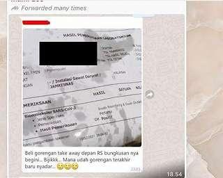 Beli Gorengan, Netizen Kaget Bungkusnya Ternyata Bekas Ini