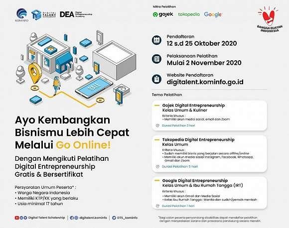 Gojek Dukung Kominfo RI Percepat Digitalisasi UMKM